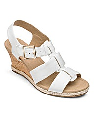 Hotter Roxanne Wedge Sandals E Fit