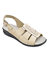 Hotter Candice Leather Sandals E Fit