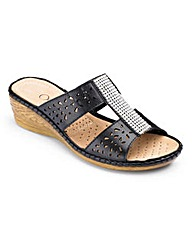 Cushion Walk Mules E Fit