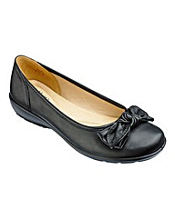 Hotter Jewel Leather Slip On Shoes E Fit