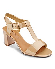 Clarks T Bar Sandals Standard D Fit