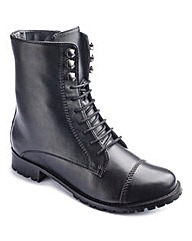 The Shoe Tailor Lace Up Boots E Fit