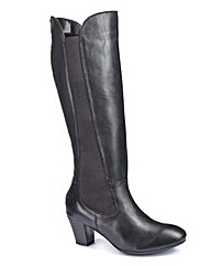 Easystep High Leg Boots E Fit Curvy Calf