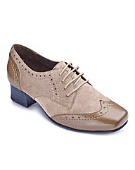 Orthopedic Lace Shoes EEEE Fit