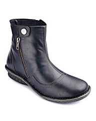 Brevitt Leather Ankle Boots E Fit