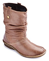 Brevitt Leather Boots EEE Fit