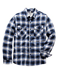 Jacamo Brushed Check Shirt Long