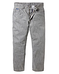 Jacamo Coated Jeans 29In Leg Length