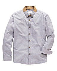 Jacamo Cord Collar Shirt Long