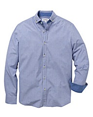 Jacamo Button Down Collar Shirt Long
