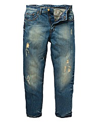Jacamo Distressed Jean 29In Leg