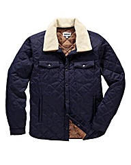 Jacamo Quilted Coat Long