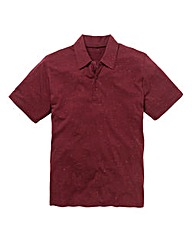 Jacamo Flecked Polo Regular