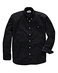 Jacamo Small Dot Printed Shirt