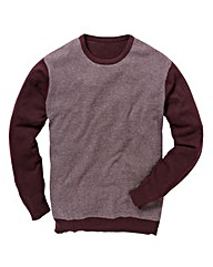 Black Label by Jacamo Wine Jacq Jumper