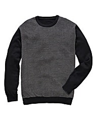 Black Label by Jacamo Blk Jacq Jumper