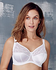 Elomi Cate Full Cup Wired White Bra