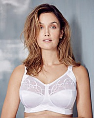 Elomi Cate Non Wired White Bra