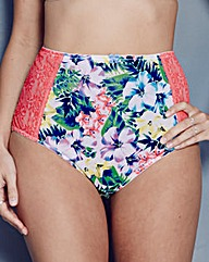 Sculptresse Chi Chi Full Tropical Briefs