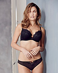Curvy Kate Kitty Black/Copper Plunge Bra