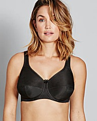 Fantasie Cotton Lined Black Bra