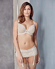 TuttiRouge Jessica Ivory/Nude Plunge Bra