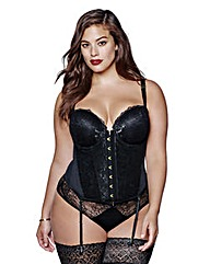 Ashley Graham Padded Bustier