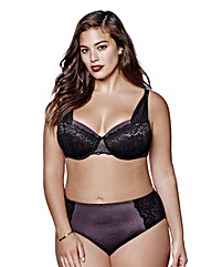 Ashley Graham Micro Lace Plunge Bra