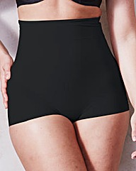 Maidenform Sleek Smooth Black BoyShort