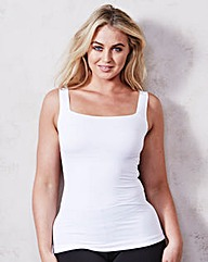 Maidenform White Fat Free Camisole Top