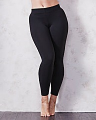 Maidenform Black Fat Free Leggings