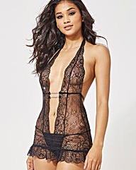Ann Summers Marydoll Skirted Body Black