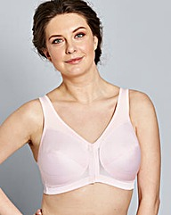 Glamorise Back Support Pale Pink Bra