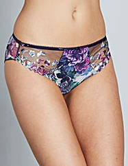 Fantasie Amelie Navy Print Briefs