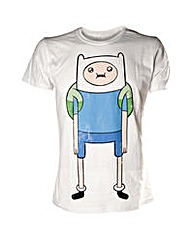 Adventure Time Finn Print Mens T-Shirt