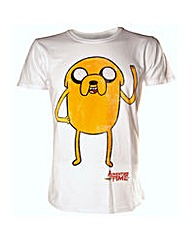 Adventure Time Jake Waving Mens T-Shirt