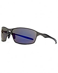 FCUK Metal Sport Wrap Sunglasses