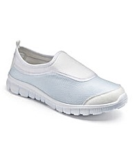 Sole Diva Slip On Trainers EEE Fit