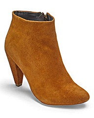 Sole Diva Heeled Ankle Boots EEE Fit
