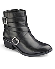 Sole Diva Casual Ankle Boots EEE Fit