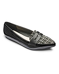 Sole Diva Pointy Loafer Shoes E Fit