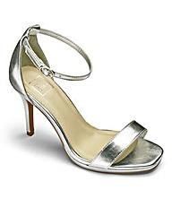 Sole Diva Platform Sandals EEE Fit