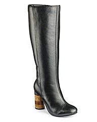 Sole Diva Leather Boots EEE Fit