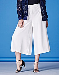Simply Be Wide Leg Crop Trousers
