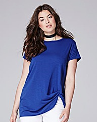 Simply Be Knot Hem T-shirt