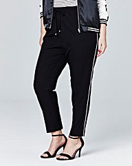 Simply Be Piped Joggers