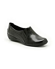 Clarks Womens Coffee Cake Wide Fit