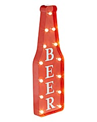 Light Up Beer Sign