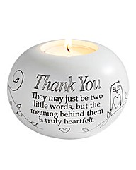 Thank-You Sentiments TeaLight Holder