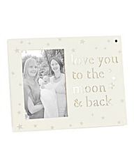 Love You To The Moon & Back Photo Frame